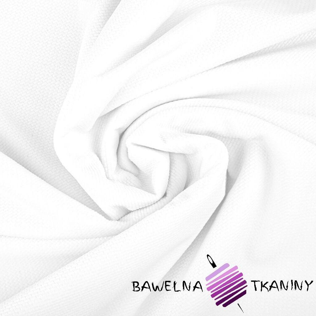 Velvet gładki biały (White)
