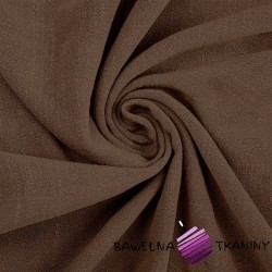 Linen with viscose for clothes -(Brownie)