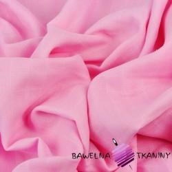 Muślin bawełniany różowy