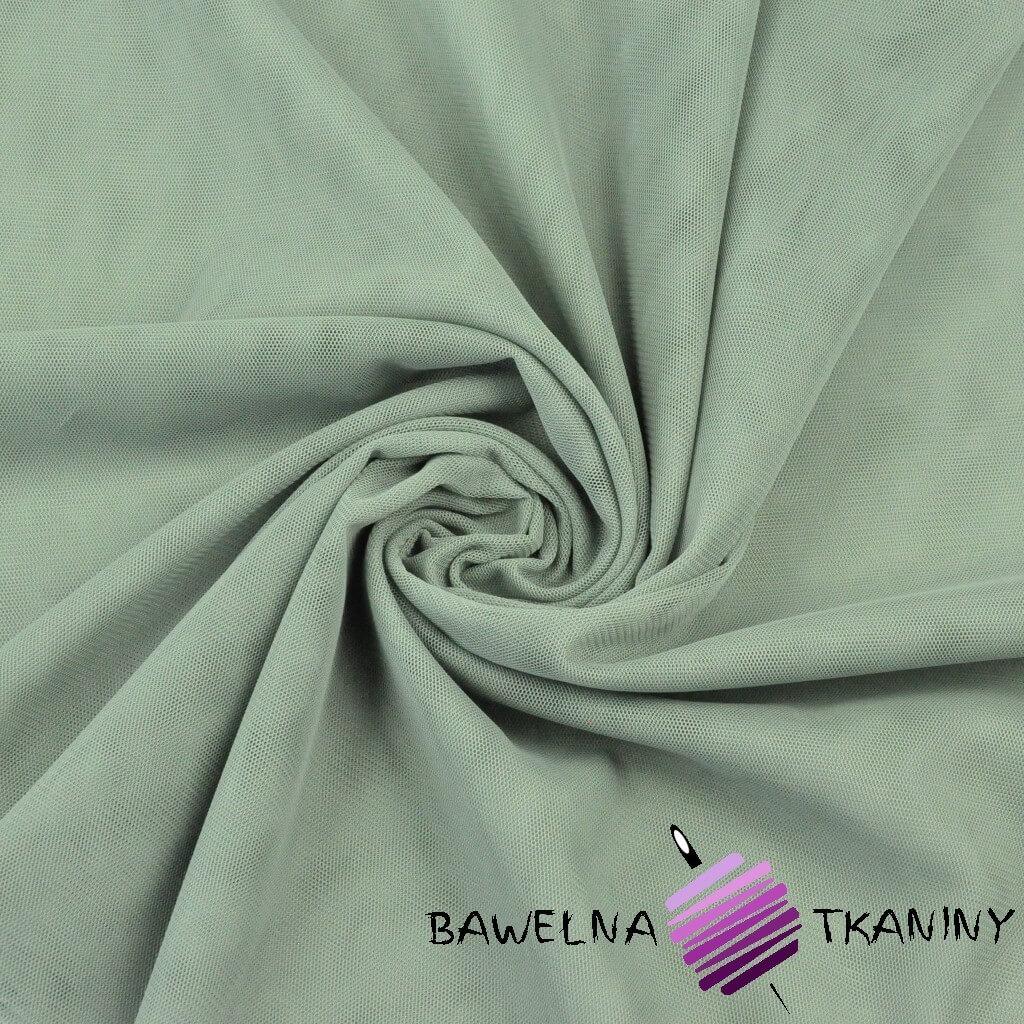 Tiul ubraniowy miękki - szałwia