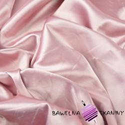 Tkanina ubraniowa satyna z lycrą - jasny róż
