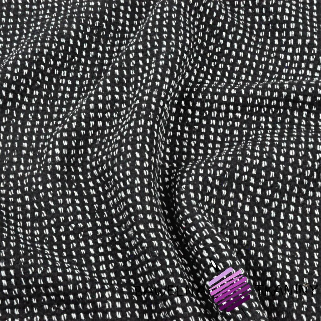 Tkanina ubraniowa gruba bawełna + akryl