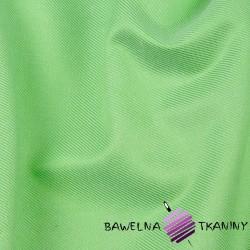Tkanina ubraniowa bawełna z nylonem - pistacja