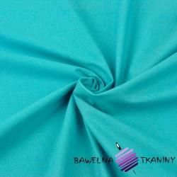 Tkanina ubraniowa bawełna z lycrą - turkus