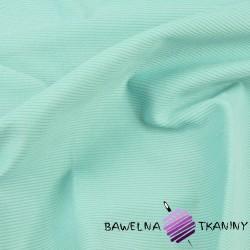 Tkanina ubraniowa sztruks miętowy
