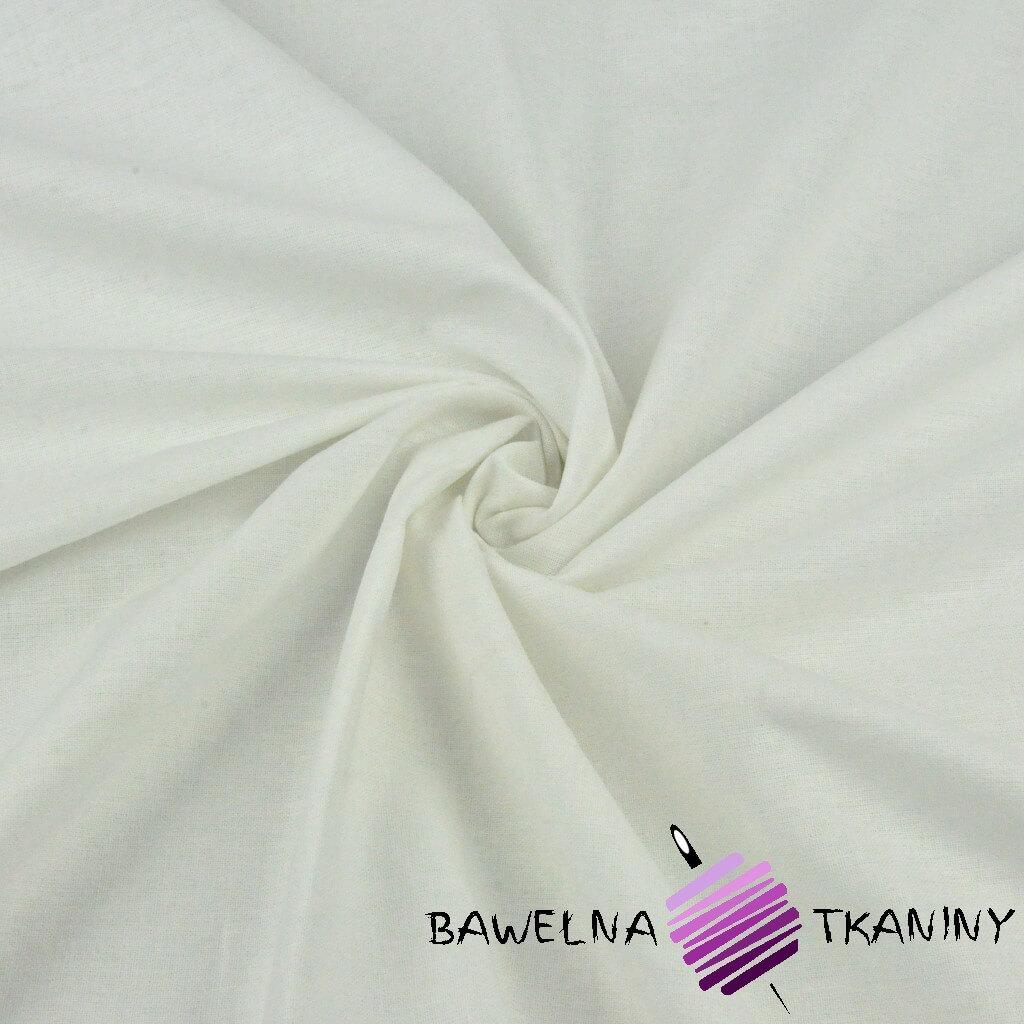 Tkanina dekoracyjna bawełniana - biel złamana