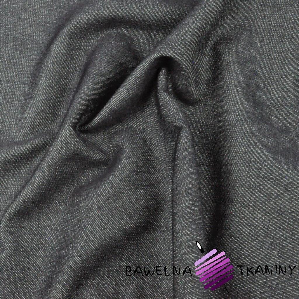 Tkanina ubraniowa Jeans - grafit