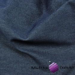 Tkanina ubraniowa Jeans - ciemny granat