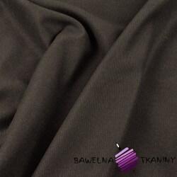 Tkanina ubraniowa sztruks ciemny brąz