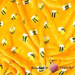 Polar plus pszczółki na pomarańczowym tle