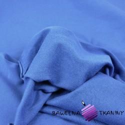 Dresówka pętelka - gładka ciemny niebieski - 280g