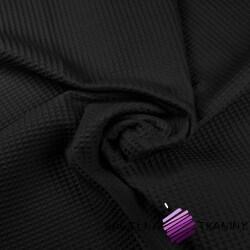 Wafel bawełniany czarny