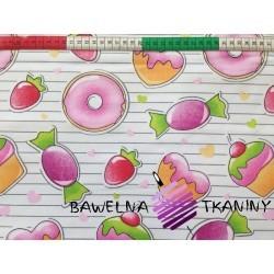 Bawełna Słodycze