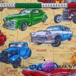 Bawełna samochody cadillac