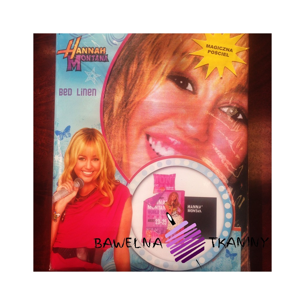 Pościel Hannah Montana 160X200