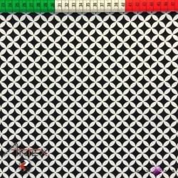 Bawełna czarna koniczyna marokańska