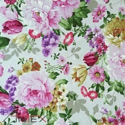 Bawełna kwiaty 25 CANVAS