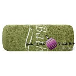 Ręcznik Bath 70x140 zielony