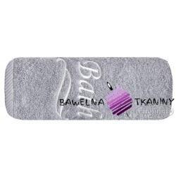 Ręcznik Bath 70x140 srebrny