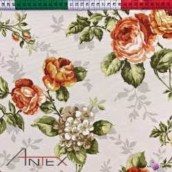 Curtain Fabric flowers 26