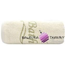 Ręcznik Bath 100x150 kremowy