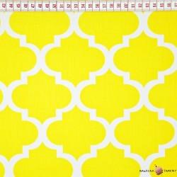 Bawełna Maroko żółte duże