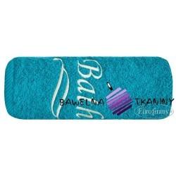 Ręcznik Bath 100x150 turkus