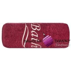 Ręcznik Bath 100x150 bordo