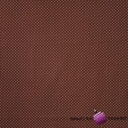 Bawełna białe Szpilki brązowe tło