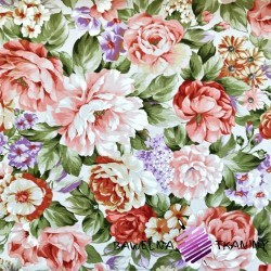 Curtain Fabric flowers 28