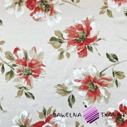 Curtain Fabric flowers 29