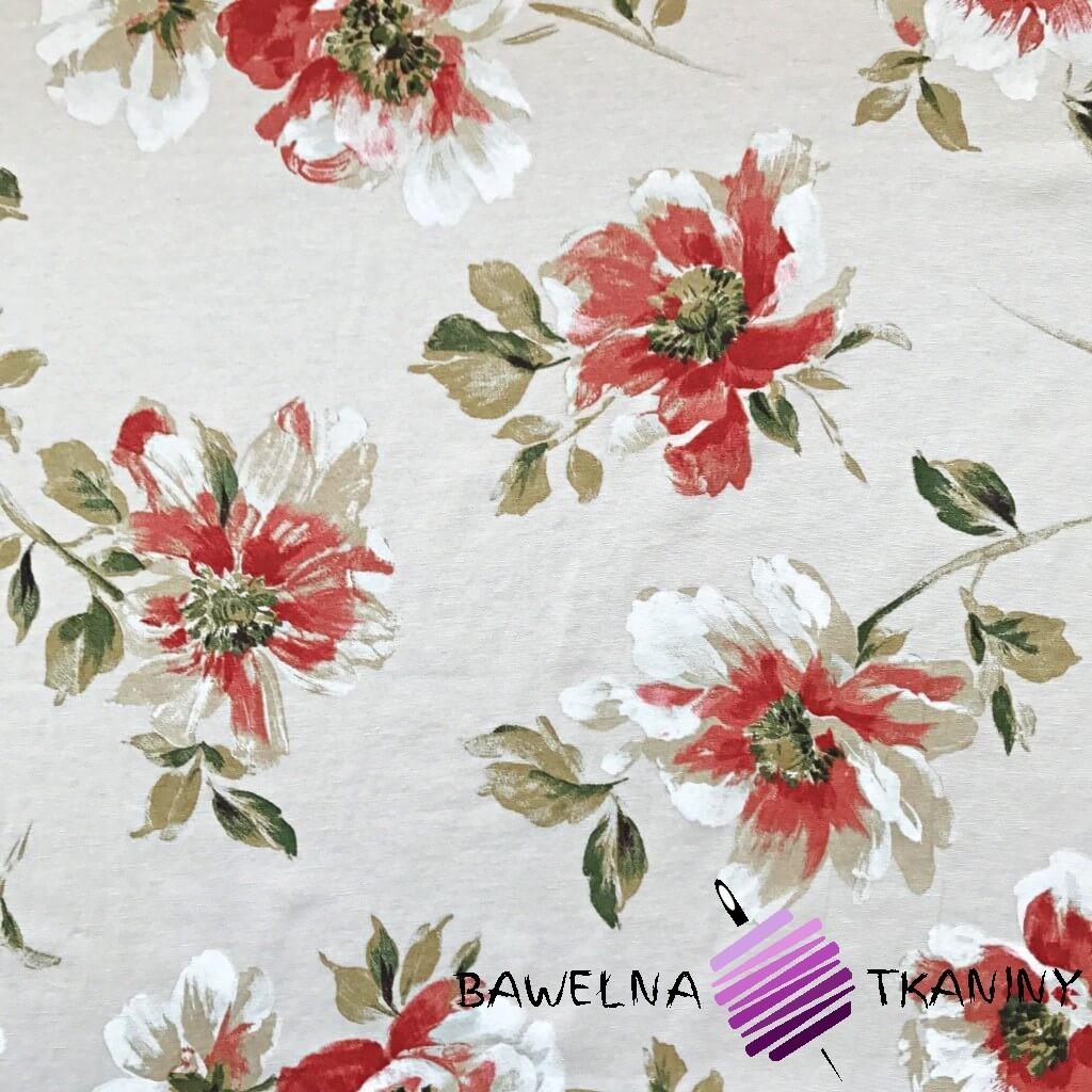 Bawełna kwiaty 29 CANVAS
