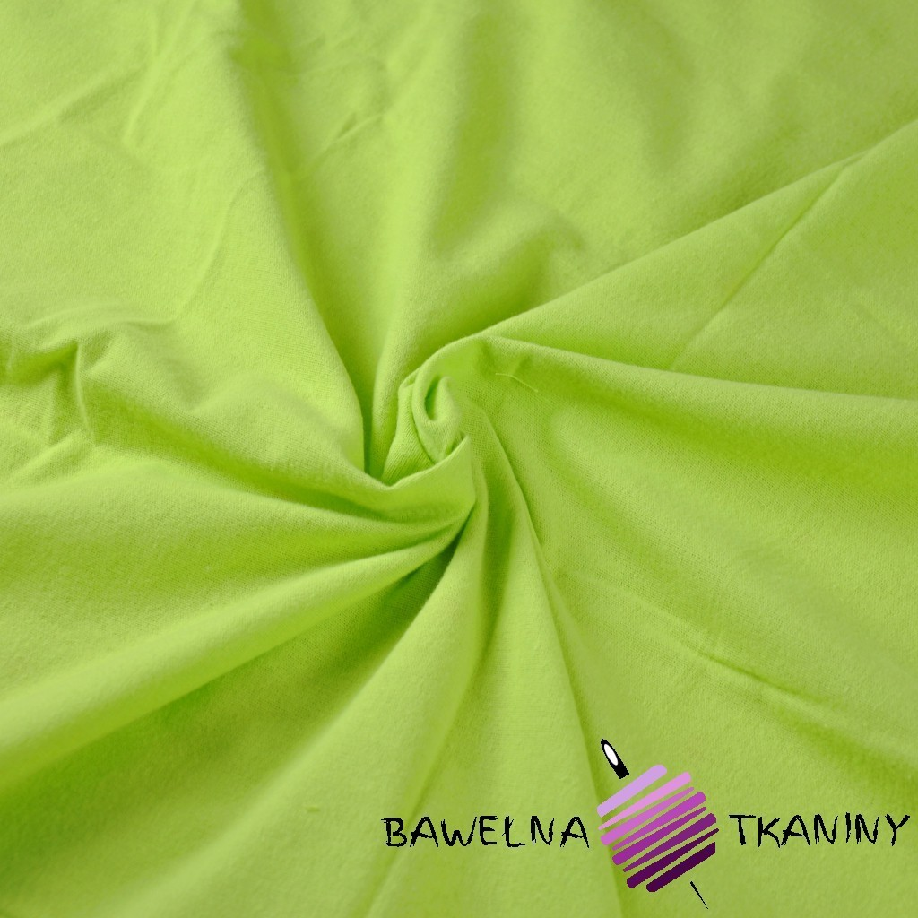 Flanela zielona