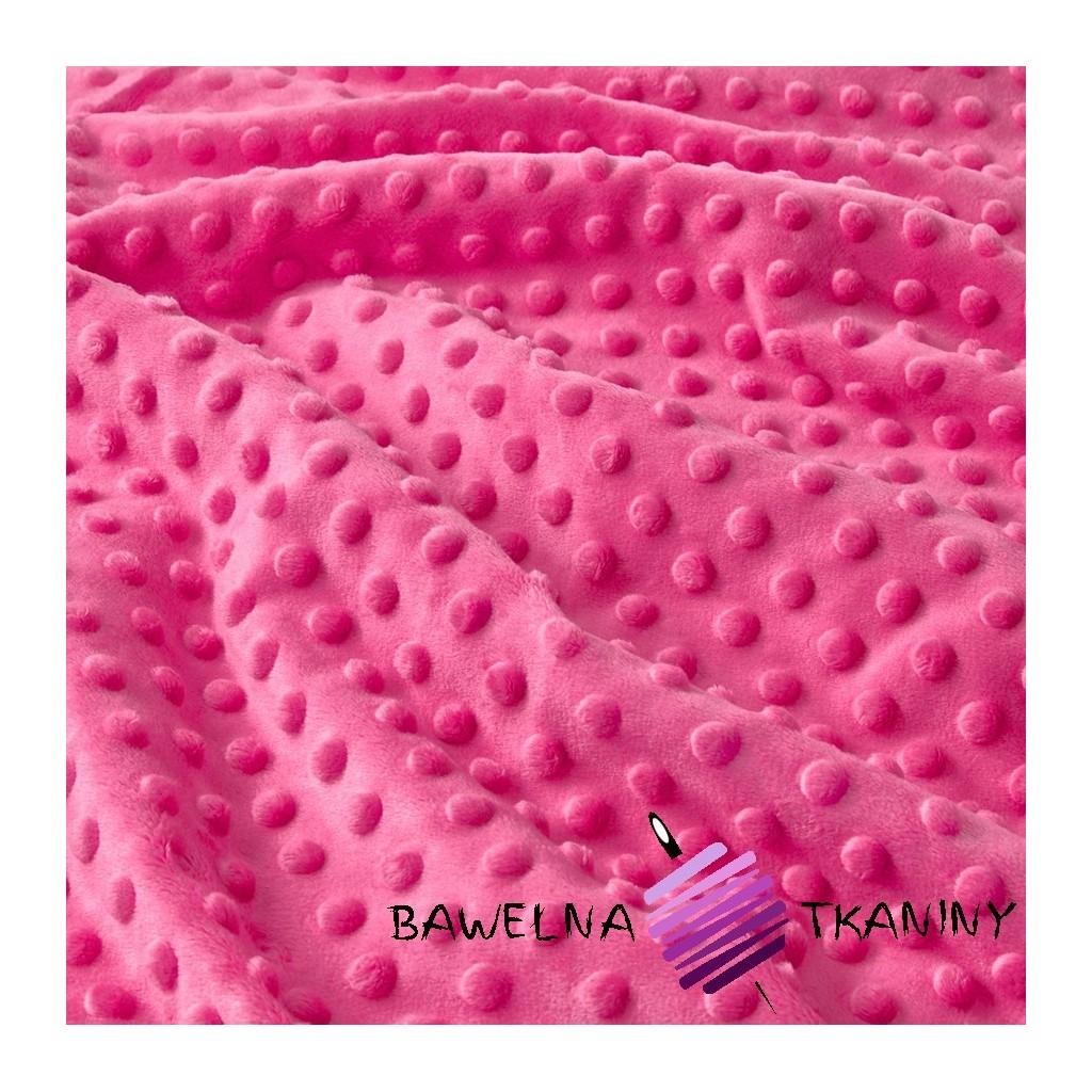 Minky Premium różowy