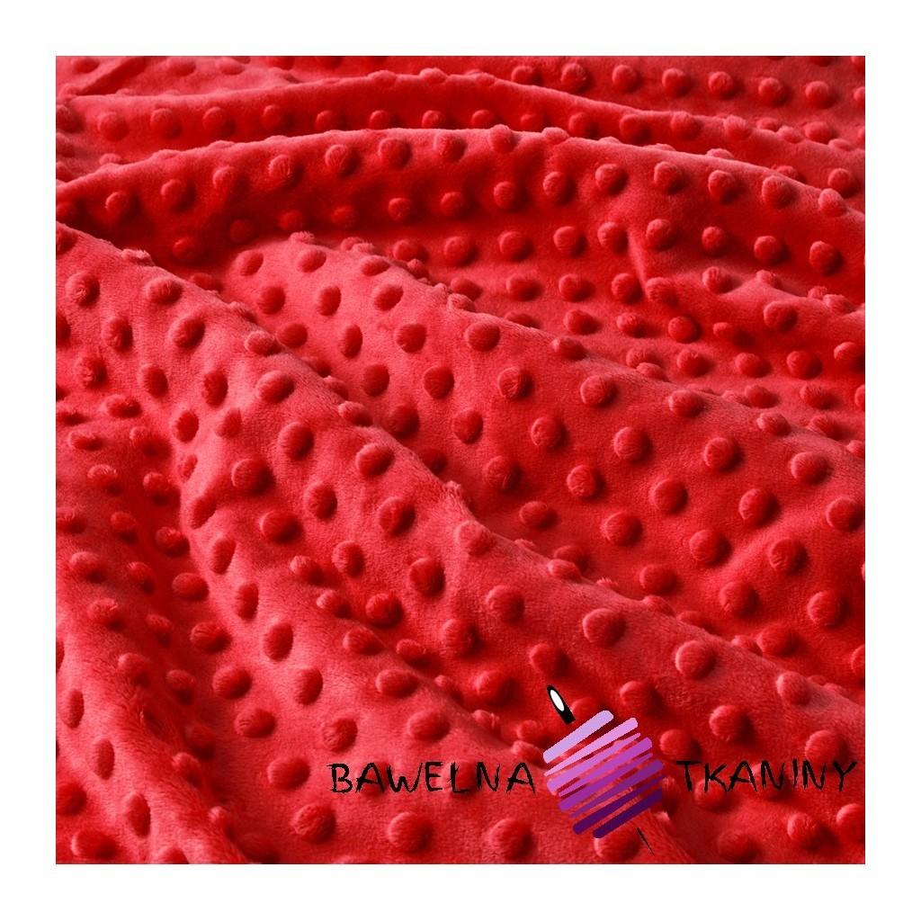 Minky Premium czerwony