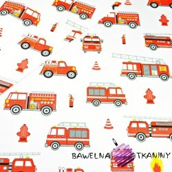 Cotton fire brigade on white background