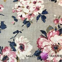 Curtain Cotton 280cm DIAMOND 2 - black out