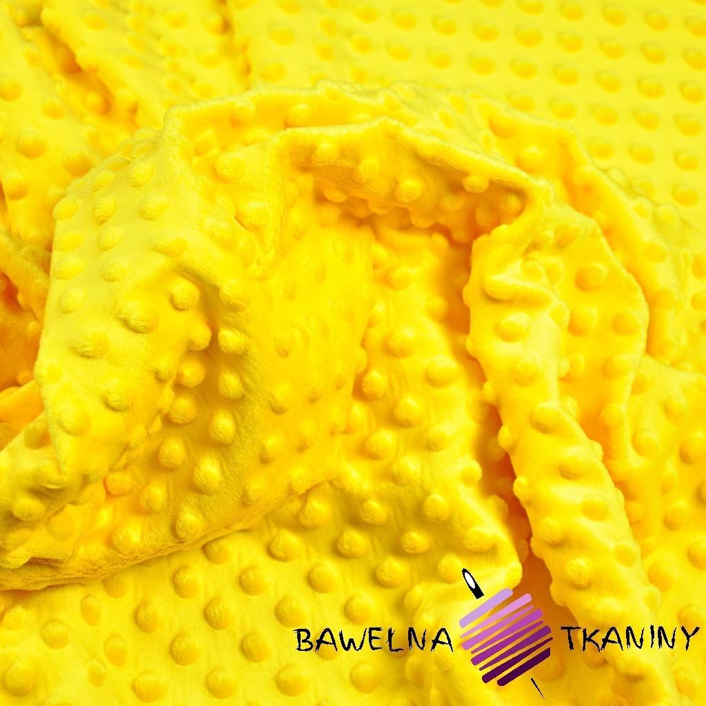 Minky Premium żółty