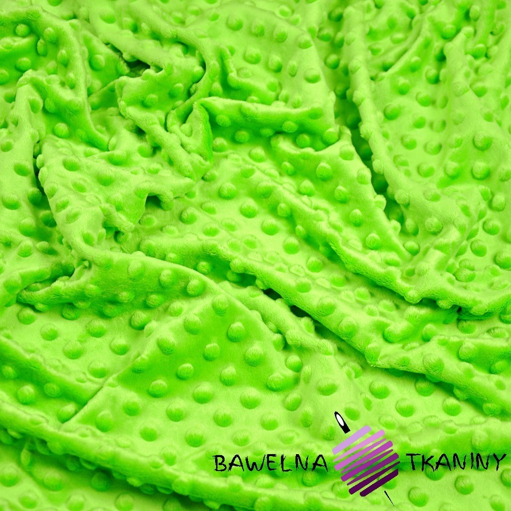 Minky Premium Jasny zielony
