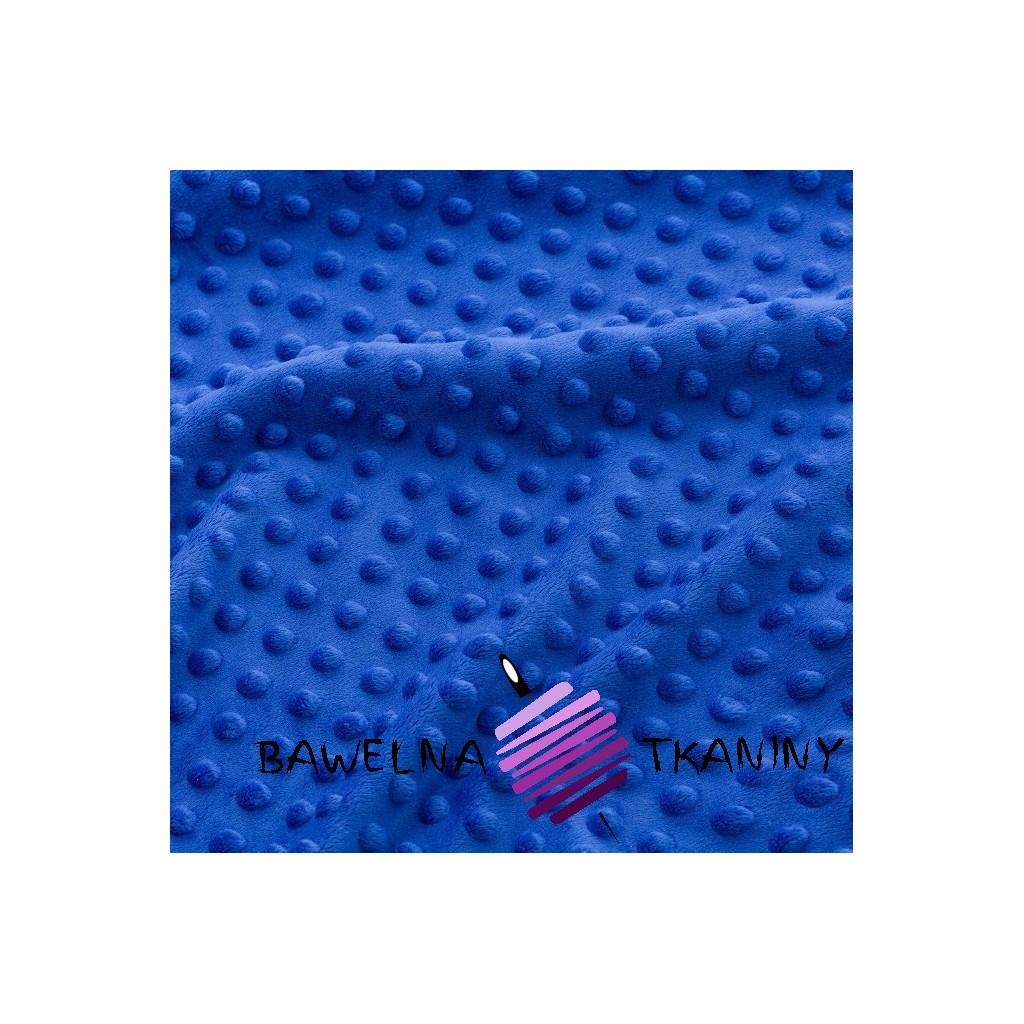 Minky Premium cienkie szafirowy