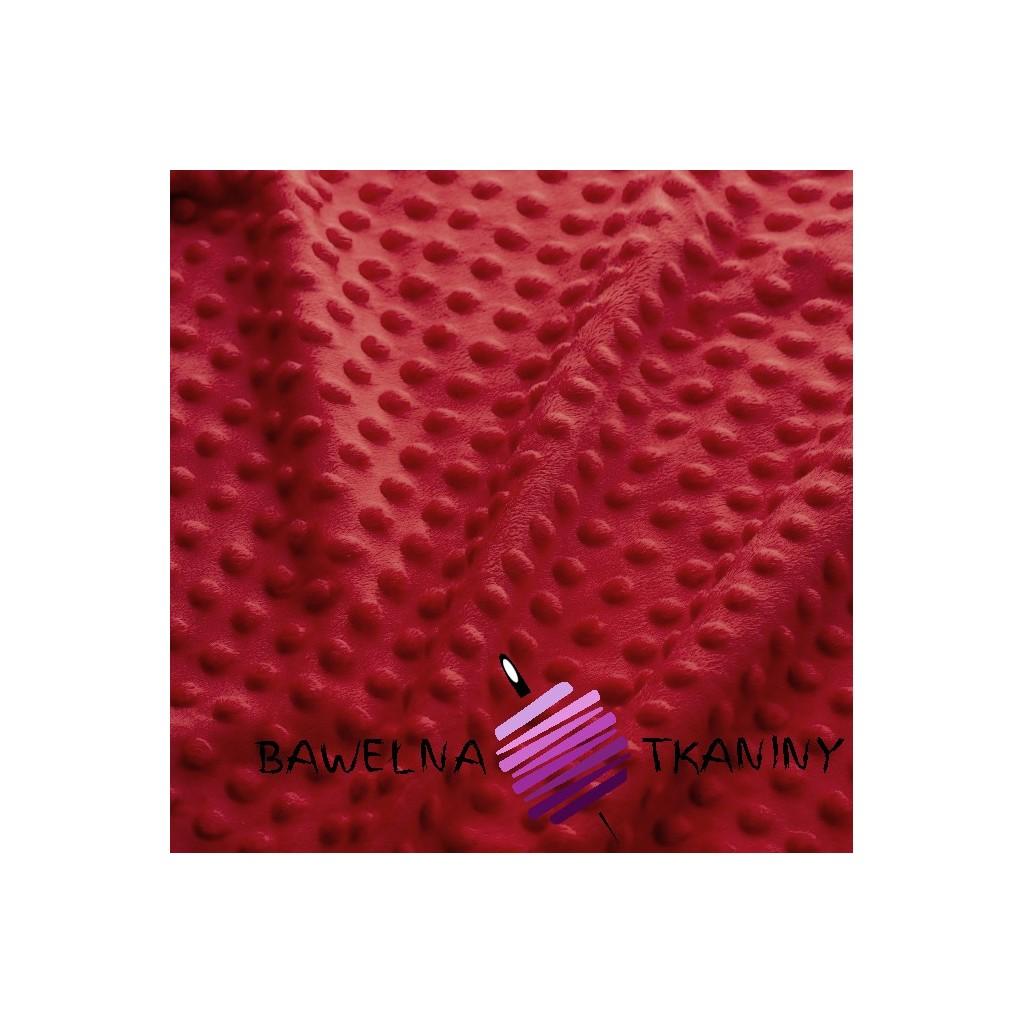 Minky Premium cienkie - czerwony