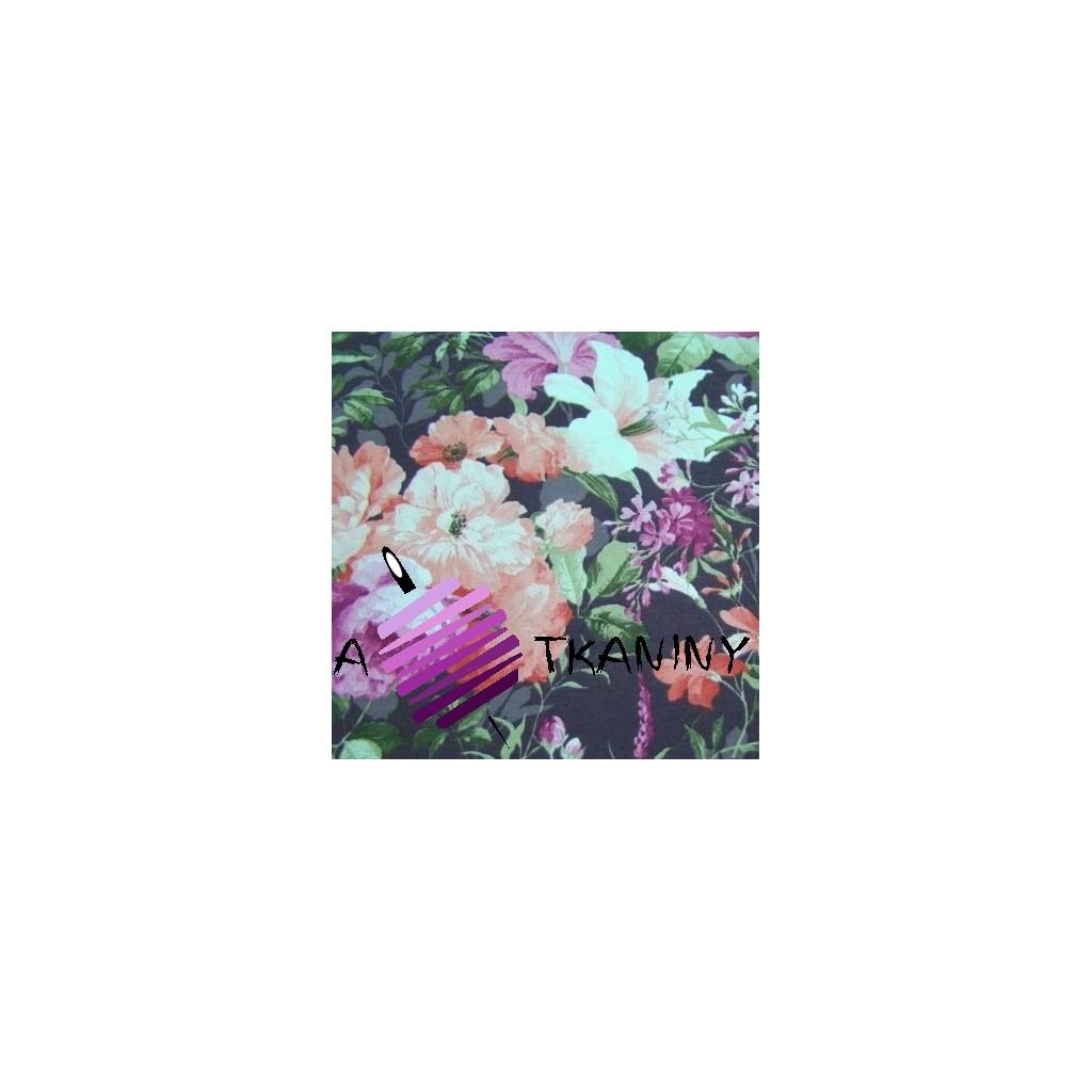 Bawełna kwiaty 6 CANVAS