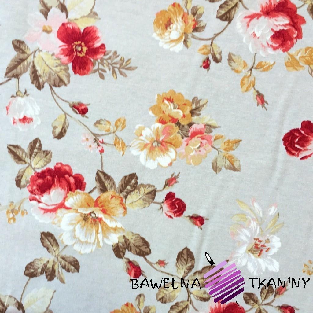 Bawełna kwiaty 5 CANVAS