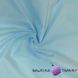 Bawełna gładka błękitna 220cm