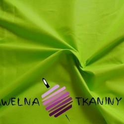 Bawełna gładka zielona 220cm