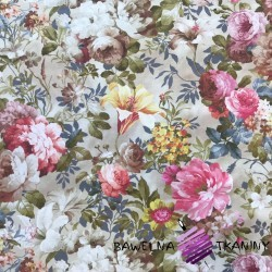 Curtain Fabric flowers 31