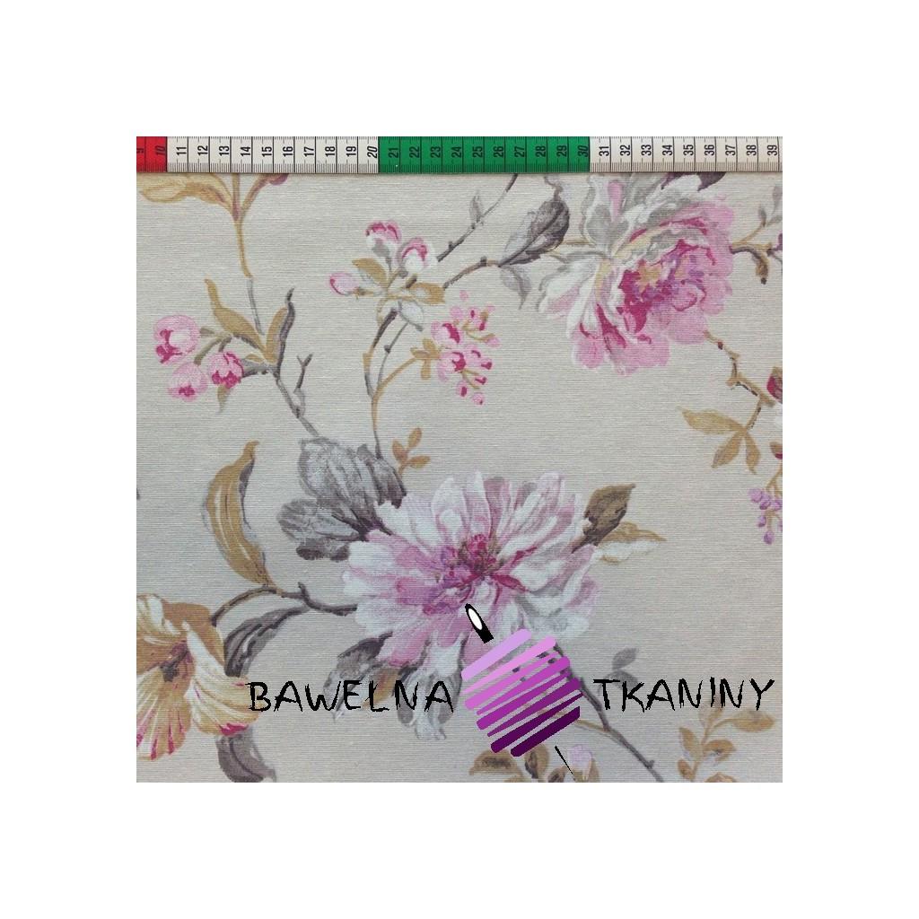 Bawełna kwiaty 13 CANVAS