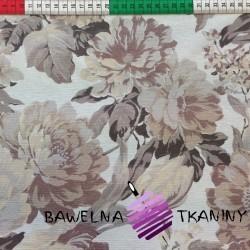 Curtain fabric flowers 12