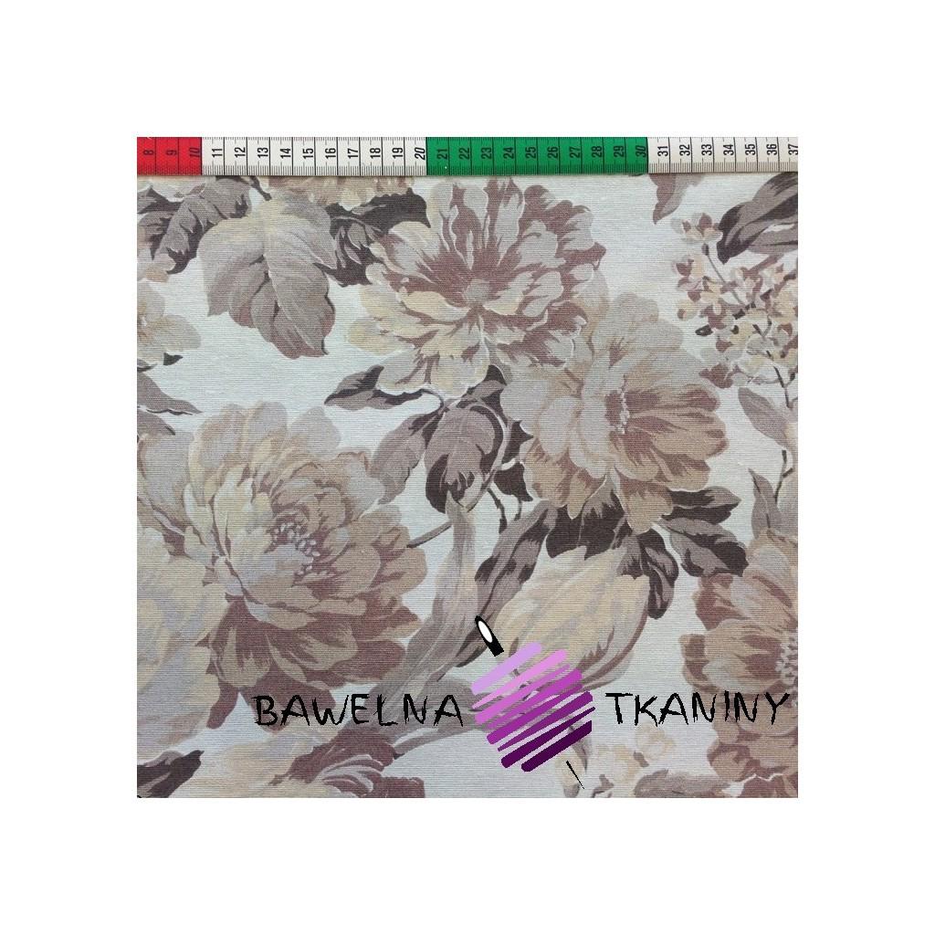 Bawełna kwiaty 12 CANVAS