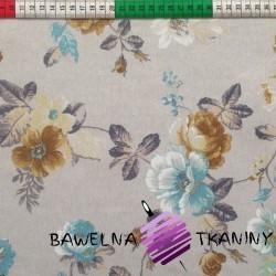 Curtain Fabric flowers 10